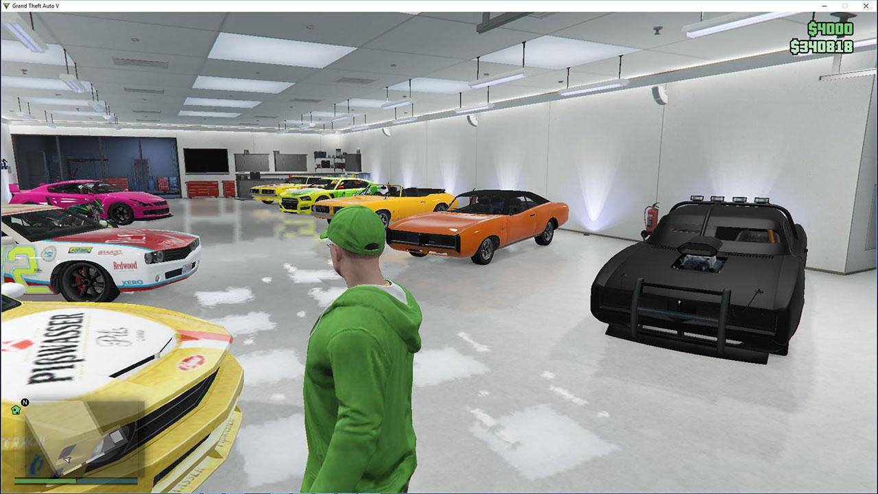 Бесплатная машина в GTA 5